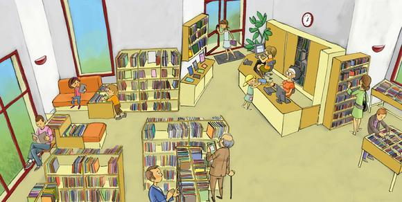 bibliothèque valmont
