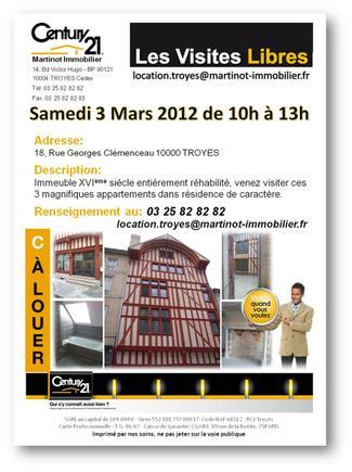 samedi 3 mars 2012 venez visiter librement ces 3. Black Bedroom Furniture Sets. Home Design Ideas
