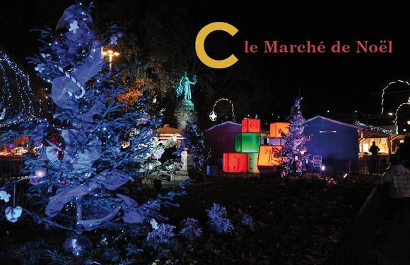 Marche de Noel a Villeurbanne