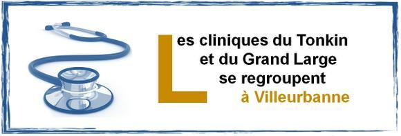 Regroupement des cliniques du Tonkin et du Grand Large à Villeurbanne
